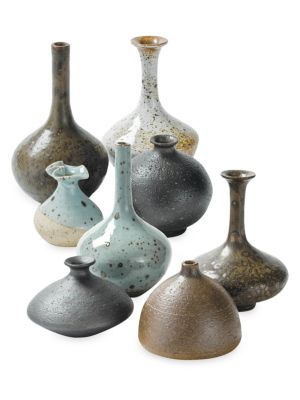 Regina Andrew Design 8 Piece Porcelain Bud Vase Set
