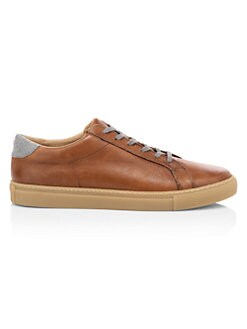 f13b1039095de QUICK VIEW. Eleventy. Leather Low-Top Sneakers