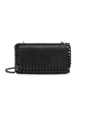 Stella Mccartney Falabella Crossbody Bag In Black