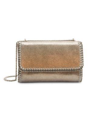 Stella Mccartney Falabella Metallic Degrad Crossbody Bag