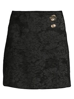 da8f5d975f Breann Brocade Mini Skirt BLACK. QUICK VIEW. Product image