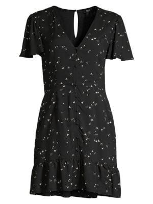 Paige Jeans Rosetta Button Front Dress
