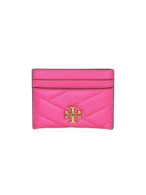 Tory Burch Bags Kira Chevron Leather Card Case