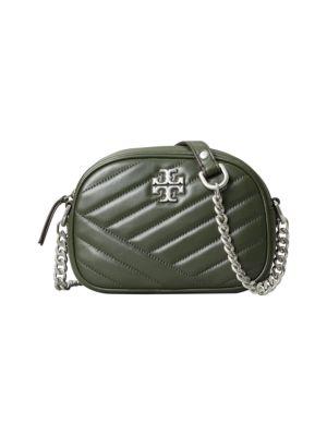 Tory Burch Small Kira Chevron Leather Camera Bag
