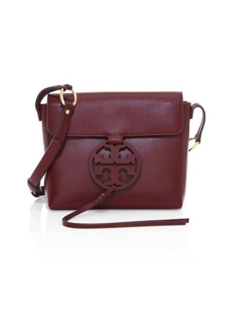 Tory Burch Miller Leather Crossbody Bag | SaksFifthAvenue