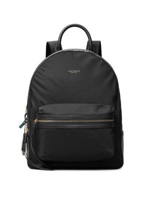 Tory Burch Perry Zip Nylon Backpack ~NWT~ Black