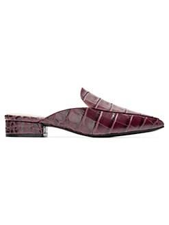 21b74492c0e37 Women's Shoes: Mules & Slides   Saks.com