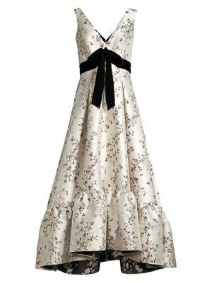 Shoshanna Meadow Floral Dress