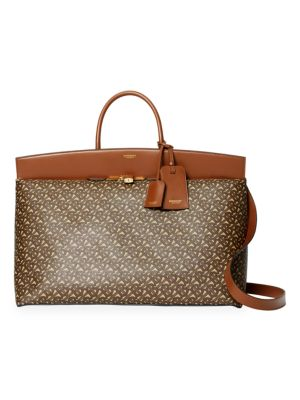 Burberry Totes Extra-Large Society Monogram Tote