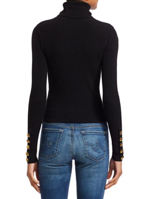 A.L.C. Desi Rib-Knit Turtleneck Sweater | SaksFifthAvenue