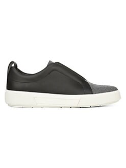 f52d10e9a28f Ranger Leather & Felt Laceless Sneakers BLACK. QUICK VIEW. Product image
