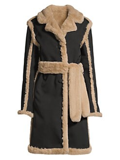 4ccf518e27c9 Product image. QUICK VIEW. Opening Ceremony. Reversible Faux Fur Coat