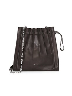 bd1b597ce QUICK VIEW. 3.1 Phillip Lim. Florence Pleated Drawstring Leather Bucket Bag