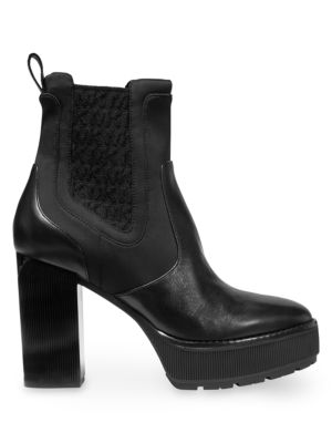 factory price ee645 11a1c Cramer Platform Leather Booties