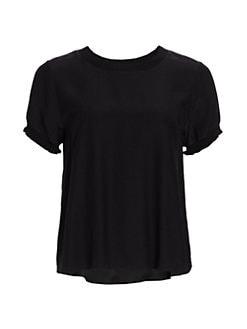 6239363c4a2b Women's T-Shirts & Tank Tops | Saks.com