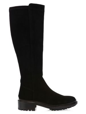 catch aliexpress the latest Oliviana Knee-High Suede Boots