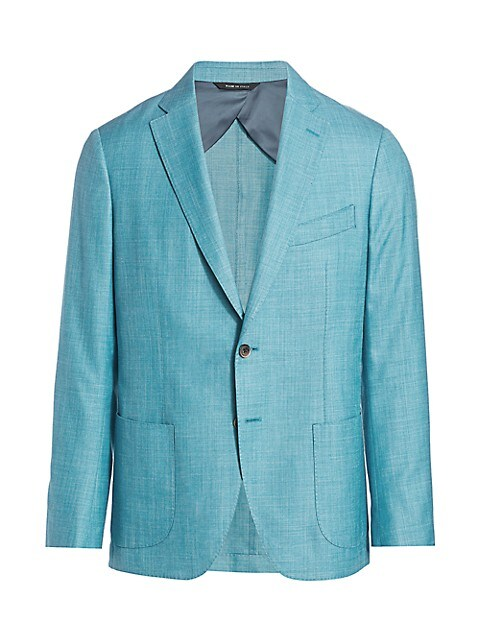 COLLECTION Solid Twill Sport Jacket