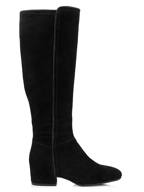 Ursele Knee-High Suede Boots