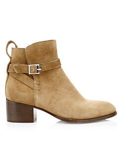 d3cfb181b Rag & Bone. Walker Buckle Suede Ankle Boots