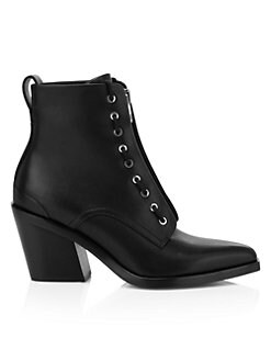 11664325d Rag & Bone - Ryder Zip-Up Leather Boots