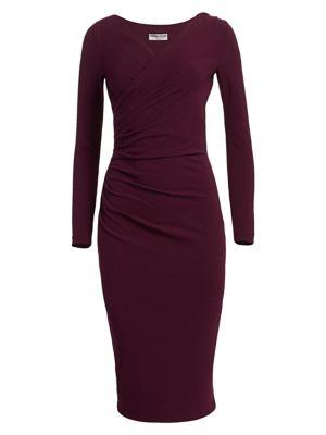 Chiara Boni La Petite Robe Marquita Ruched Jersey Dress