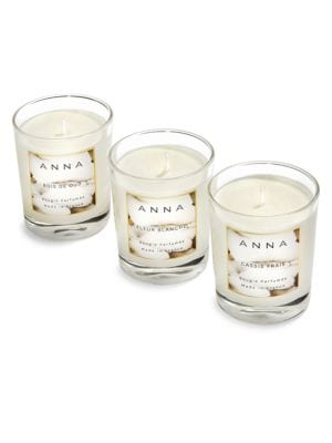 Anna New York La Cire Assorted 3 Piece Votive Set