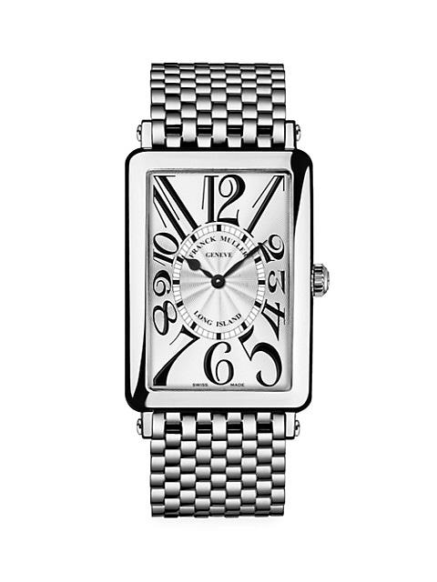 Long Island Stainless Steel Bracelet Watch