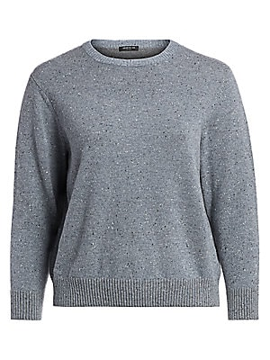 super populaire 2c629 4e9b1 Lafayette 148 New York, Plus Size - Donegal Wool Sweater