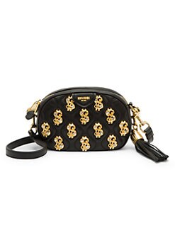 a7b97d898 Dollar Sign Embellished Crossbody Bag BLACK MULTI. QUICK VIEW. Product image