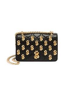12922d8c2 Dollar Sign Embellished Shoulder Bag BLACK MULTI. QUICK VIEW. Product image
