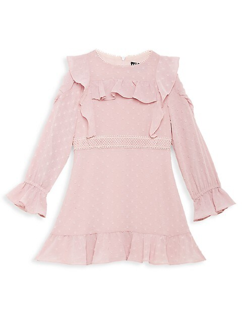 Little Girl's & Girl's Abbie Ruffle Flare Dress