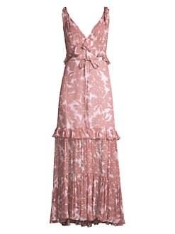 141c8576e6f29 QUICK VIEW. Diane von Furstenberg. Misha Ruffle Daisy Print Maxi Dress