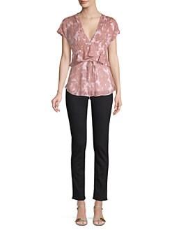 6976a4df11c74 Diane von Furstenberg. Millie Silk-Blend Daisy Print ...