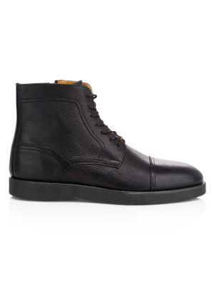 1e04c58ac7c HUGO BOSS - Oracle Lace-Up Ankle Boots - saks.com