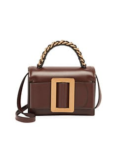 427f7dab6 QUICK VIEW. Boyy. Fred Buckle Leather Top Handle Bag