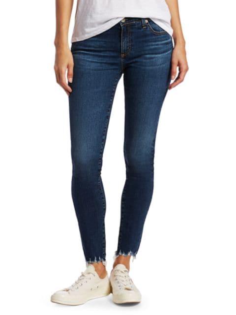AG Jeans Legging Ankle Mid-Rise Skinny Jeans | SaksFifthAvenue