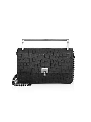 712c7a5a Botkier New York - Lennox Croc-Embossed Leather Top Handle Bag