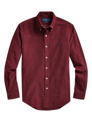Classic Fit Corduroy Shirt in 2020 | Shirts, Polo ralph