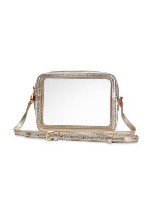 Gigi New York Bags Collins PVC & Metallic Leather Camera Bag