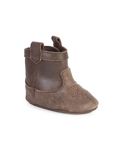 Baby Girl's Marlilee Leather Booties