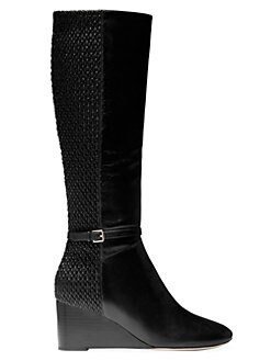 c660ee7f36e QUICK VIEW. Cole Haan. Lauralyn Leather Tall Wedge Boots