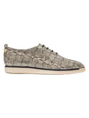 Cole Haan Sneakers Grand Ambition Snake-Embossed Leather Sneakers