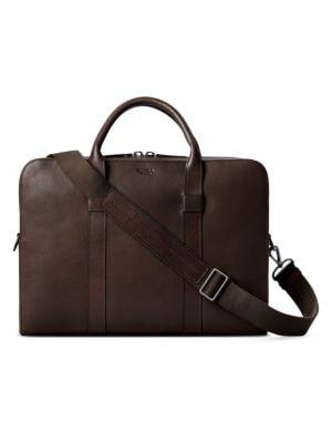 Shinola Pants Guardian Leather Briefcase