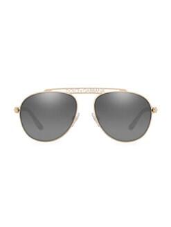 185ef90ad89e QUICK VIEW. Dolce & Gabbana. 57MM Aviator Sunglasses