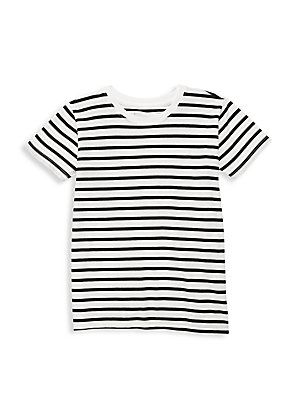 ATM Anthony Thomas Melillo - Little Boy's Striped Jersey Tee