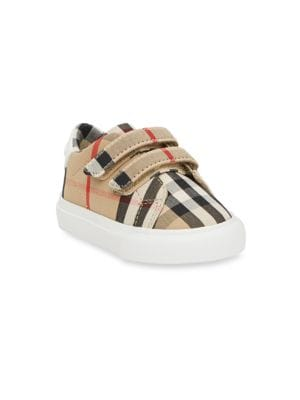 Burberry Little Kid S Markham Check Sneakers