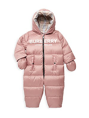 Snowsuit Burberry Baby Girl''s Skylar Quilted 4AL5j3qR