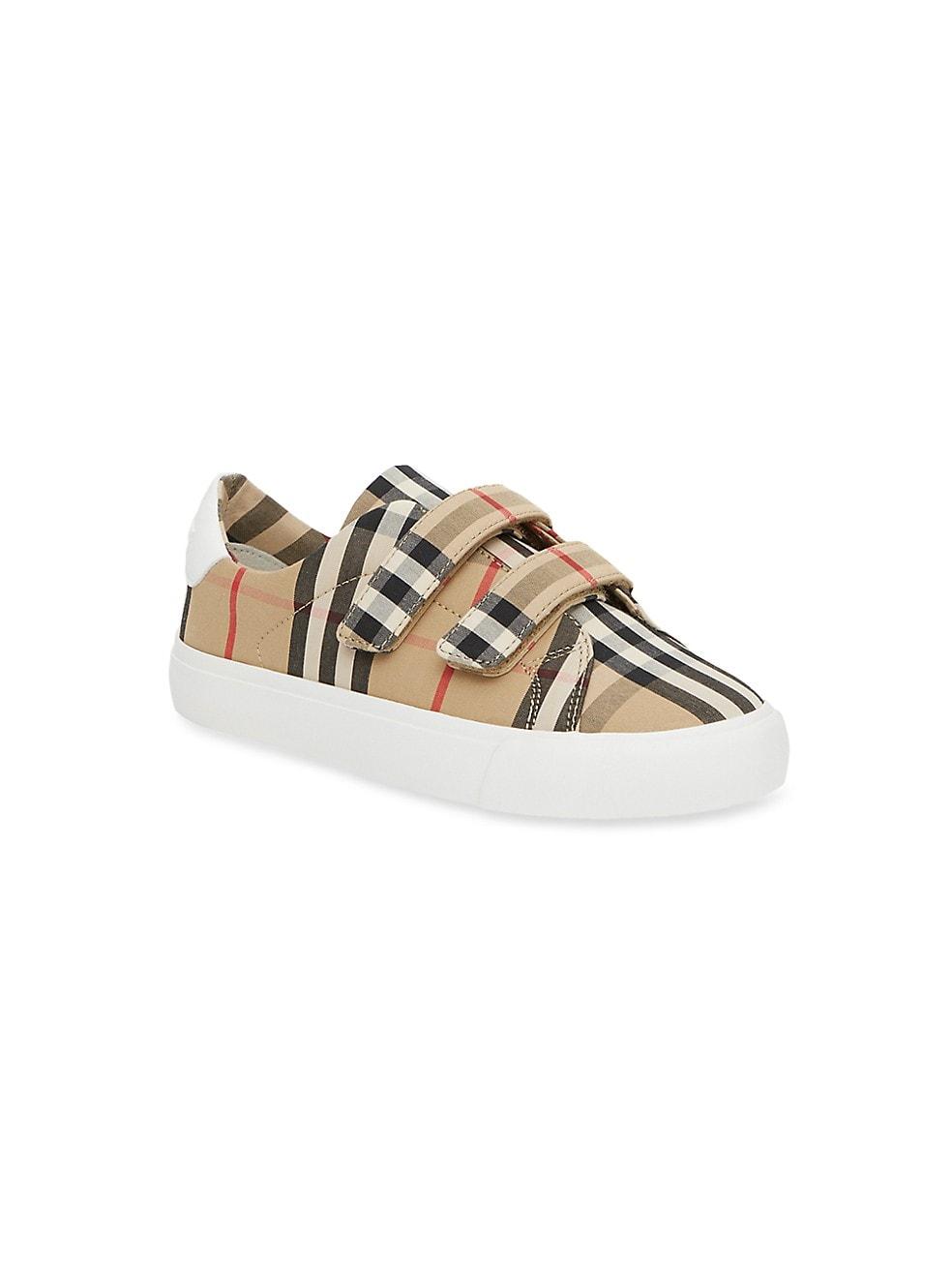 Burberry Babys & Little Kids Mini Markham Check Sneakers