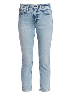 Hudson Jeans Betty Tapered Cropped Jeans