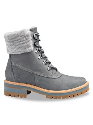 Courmayeur Valley Waterproof Shearling Lined Suede Hiking Boots